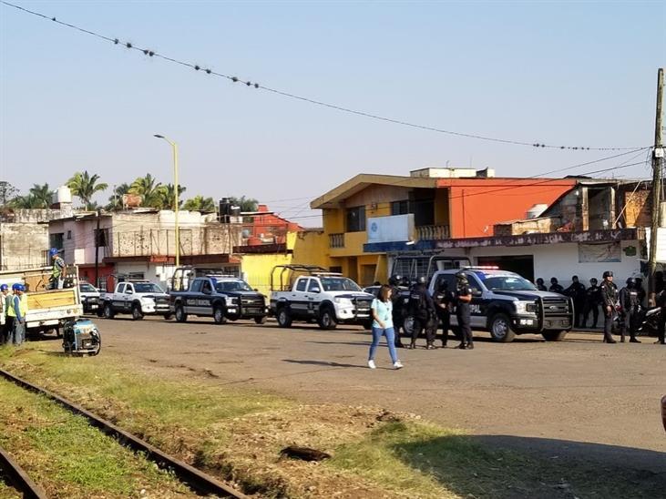 Desalojan antimotines a maestros del SNTE en Veracruz, tras protestas