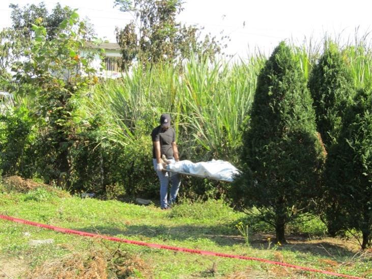 Muere asfixiado en quema de pastizales, en Atzacan