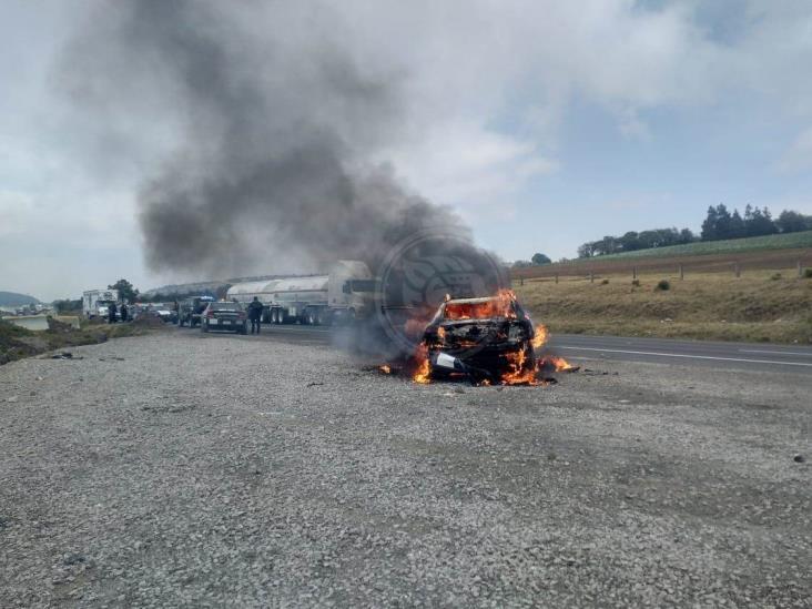 Desconocidos atacan a policías en límites de Puebla y Veracruz