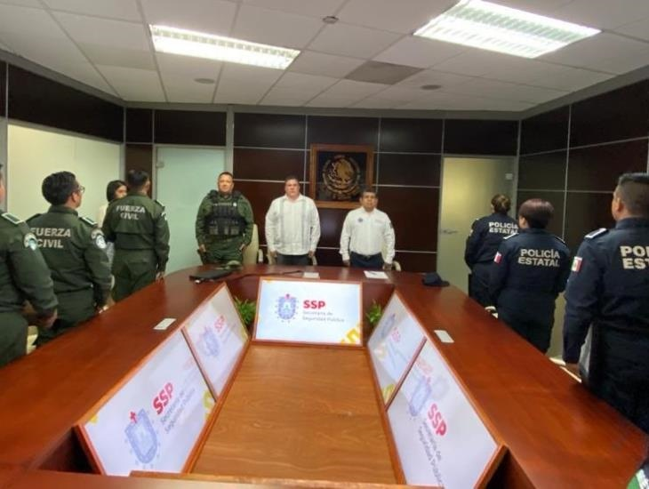Reconoce Hugo Gutiérrez a policías veracruzanos