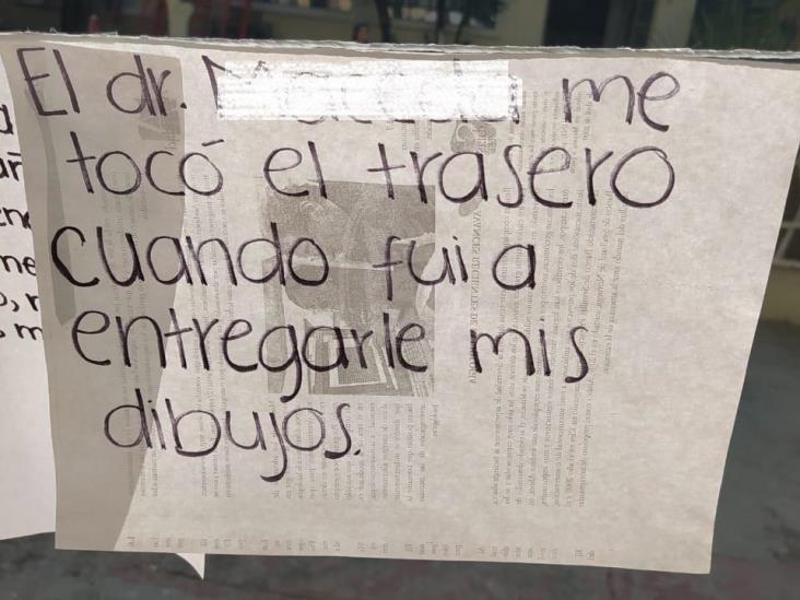 Denuncian acoso mediante ´tendedero´ en UV de Mendoza