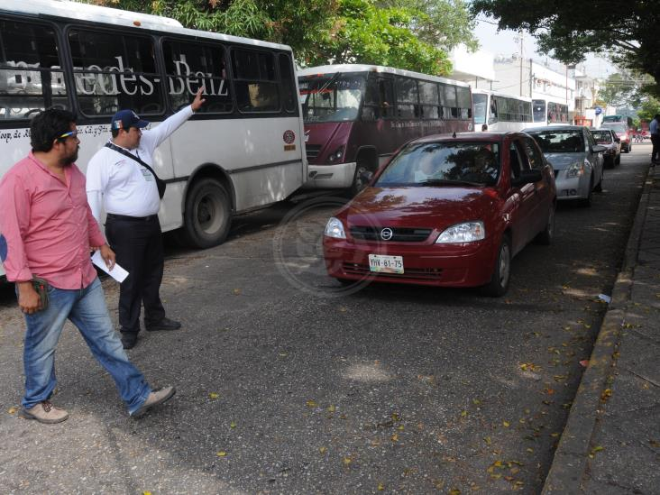Faltan agentes de tránsito para operativos en Coatzacoalcos