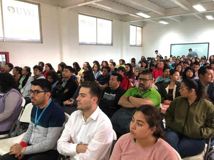 Red Mundial de Jóvenes Políticos de Coatzacoalcos realizó conferencias sociales
