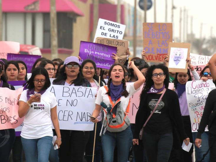 ¡Respétame cabrón!, mujeres de Coatzacoalcos alzan la voz