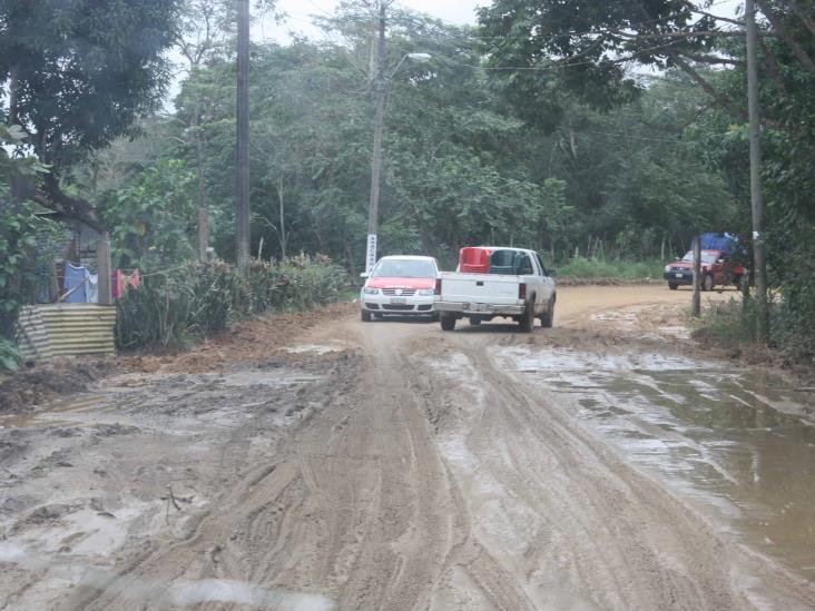 Deslaves afectan a 3 mil pobladores de la zona rural de Las Choapas