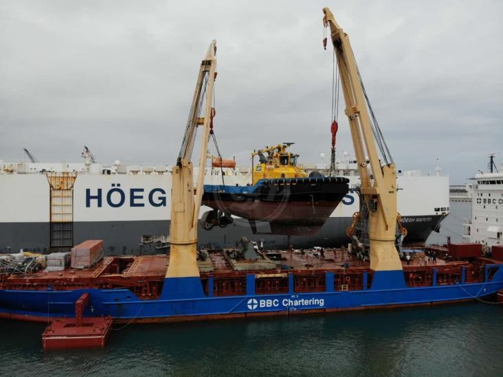 Arriba el remolcador Saam Huasteca al puerto de Veracruz