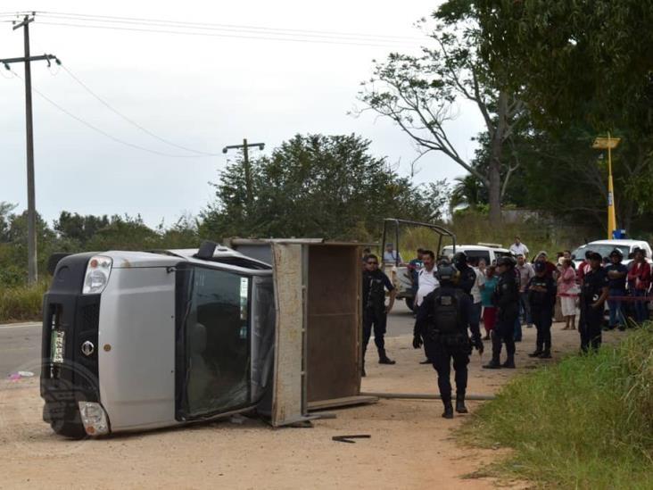 Fatal accidente cobra una vida en San Juan Evangelista