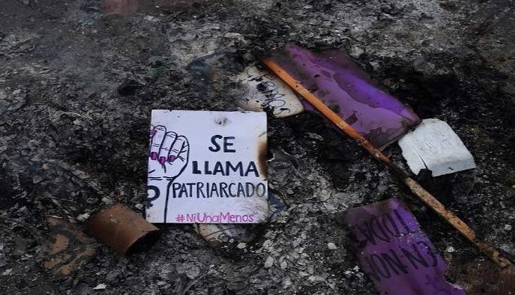 Calles, aulas y oficinas sin mujeres, así arrancó el Paro Nacional Un Día Sin Mujeres