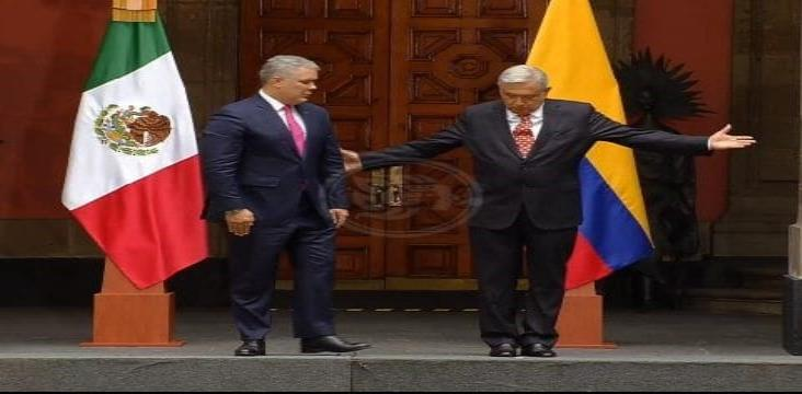 AMLO recibe a Iván Duque, presidente de Colombia