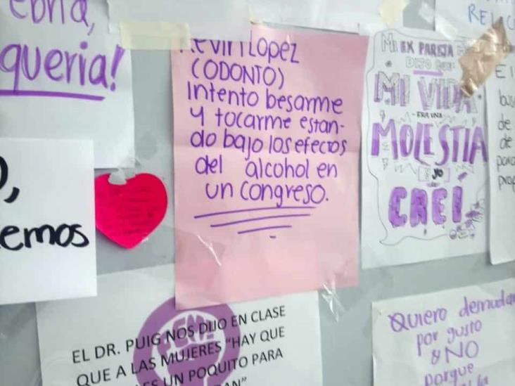 Alumnas de la UV campus Minatitlán revelan ser víctimas de acoso