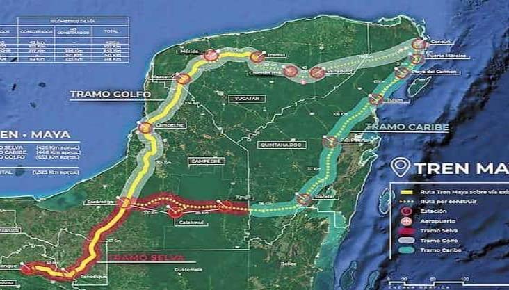 Cambian trazo del Tren Maya por cenotes y vestigios arqueológicos