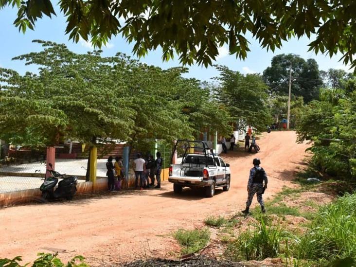 Persecución a balazos retrasó hora de salida en kínder de Acayucan