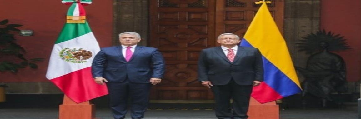 Presidente de Colombia realiza visita oficial a México