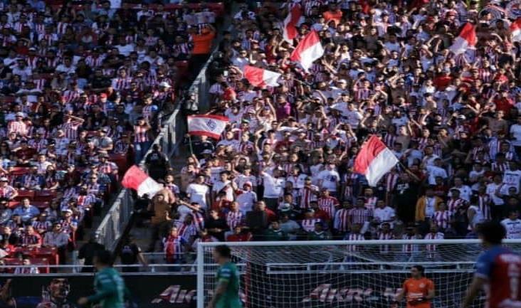 Chivas, el equipo con más afición en los estadios