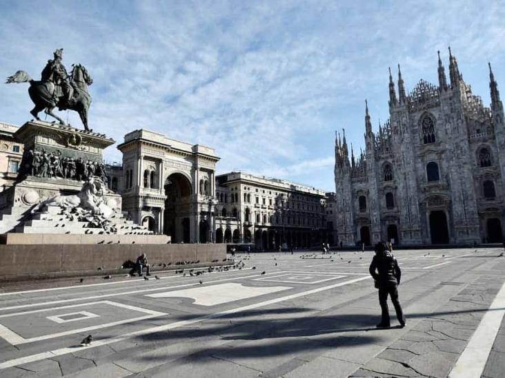 Italia ordena cierre de negocios, menos supermercados y farmacias