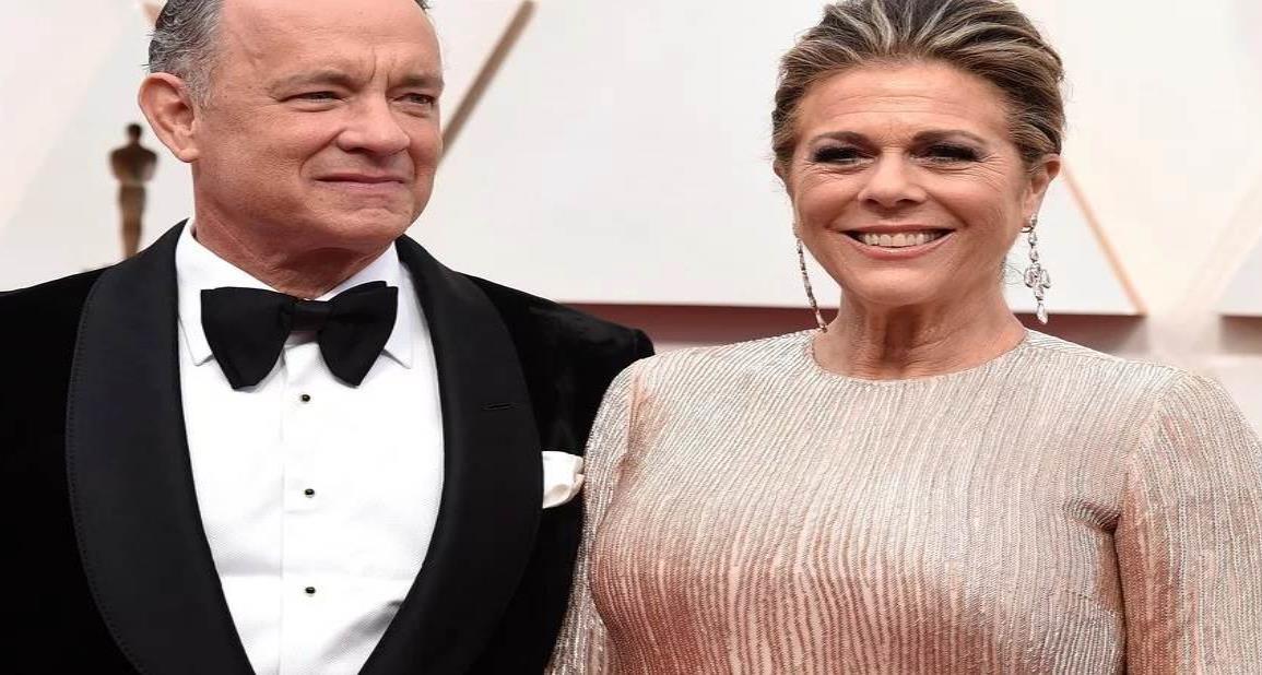 Tom Hanks y su esposa dan positivo en coronavirus en Australia