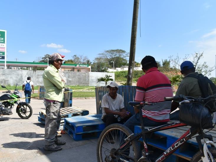 Esperan oportunidad empleo con reconstrucción de Soriana en Acayucan