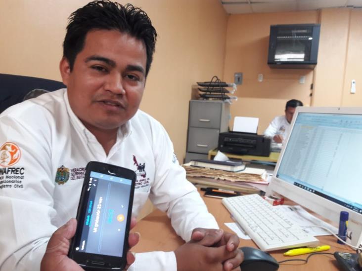 Cuitláhuac García quiere que en Veracruz haya cultura registral