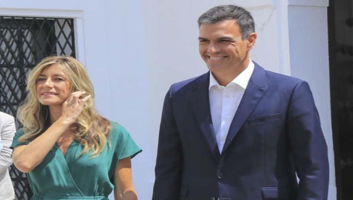 Esposa del presidente de España, da positivo a prueba de Covid-19