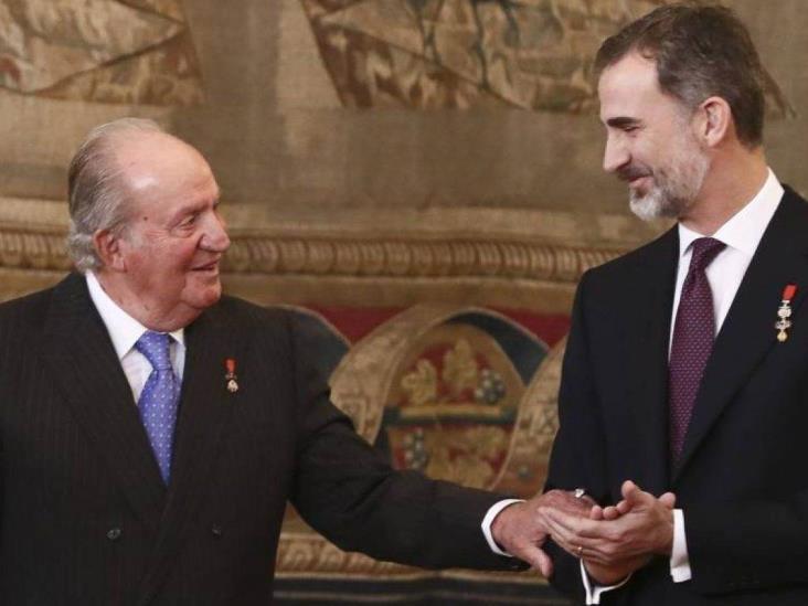 Renuncia  el Rey de España Felipe VI a herencia de Juan Carlos