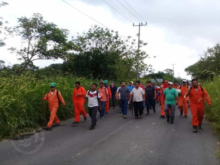 Se desata conflicto entre sindicatos de obreros en Nanchital