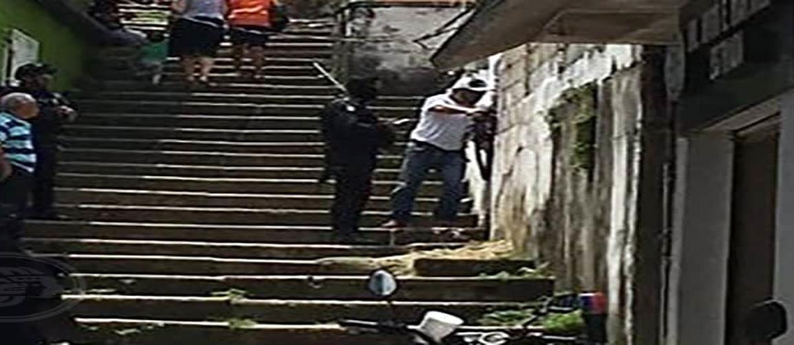 Atrapan a ladrón y lo obligan a devolver lo robado en Nanchital