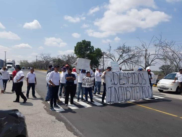 Por quinto día consecutivo, trabajadores de  HAL Horizon Auto Logistics se manifiesta