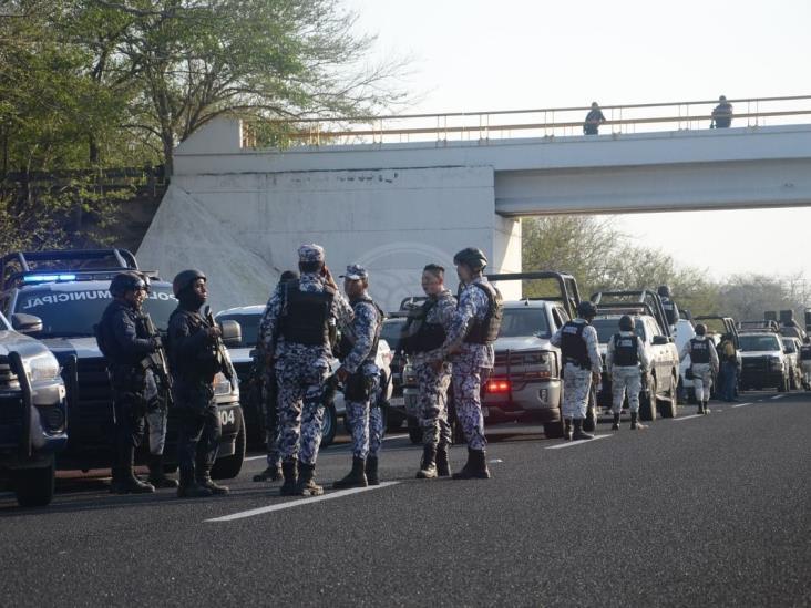 Enfrentamiento en Boca del Río; hieren a elementos de Fuerza Civil