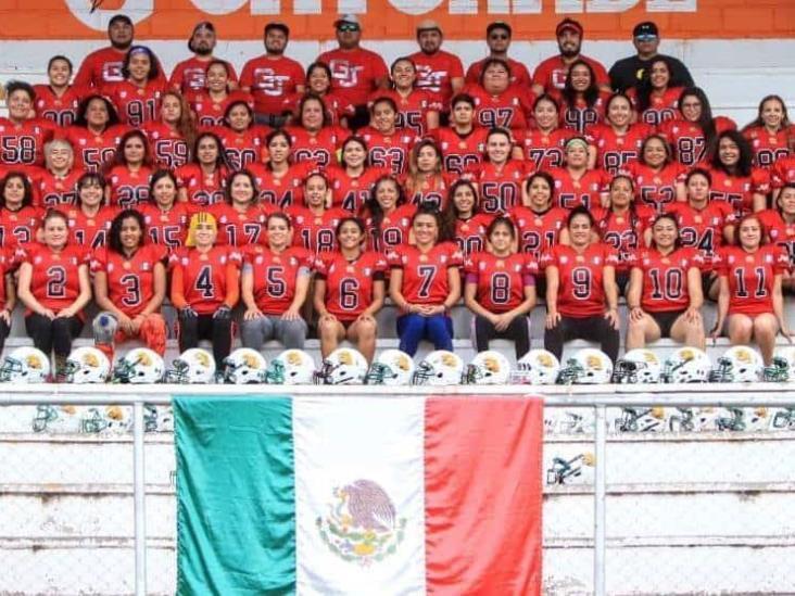 Equipo mexicano de fútbol americano femenil varado en Honduras
