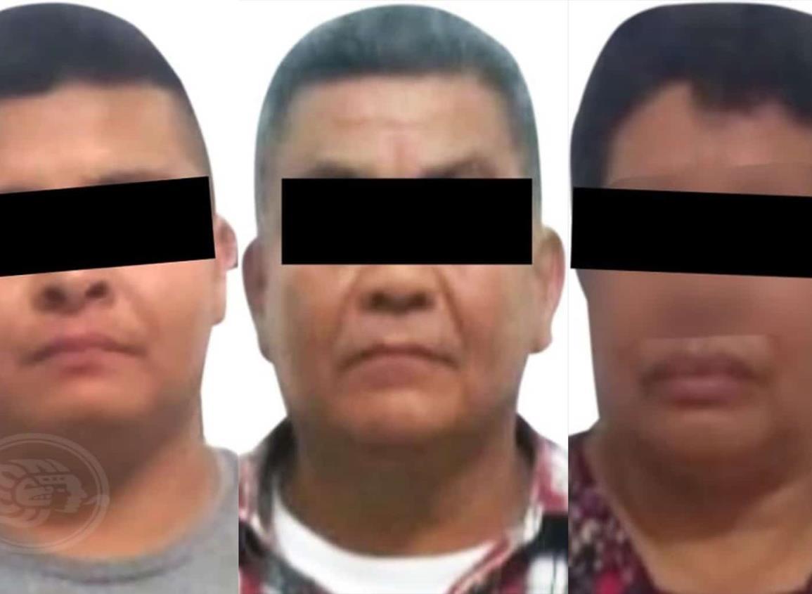 Detienen a tres presuntos estafadores en Acayucan
