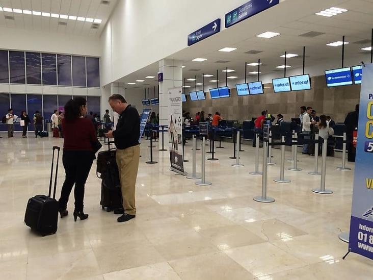 Cancelan vuelos por baja afluencia ante Covid-19