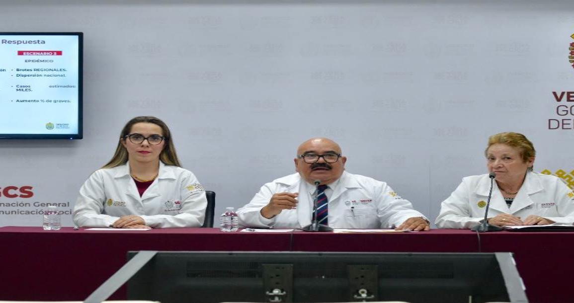 Sesver: 4 casos positivos de COVID-19 en Veracruz
