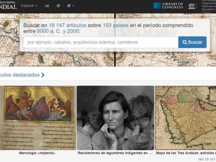 La UNESCO libera su Biblioteca Digital Mundial tras cuarentena