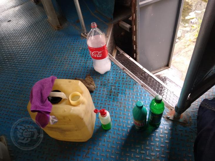Desinfectarán unidades del transporte urbano en Minatitlán