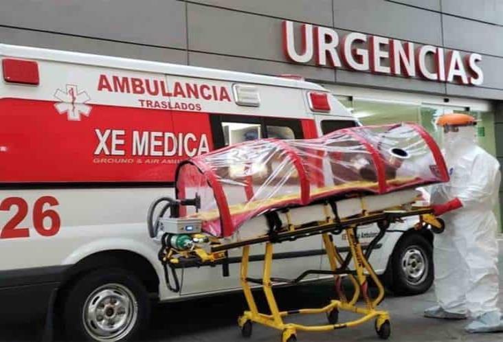 Así es la ambulancia y cápsula para pacientes con coronavirus