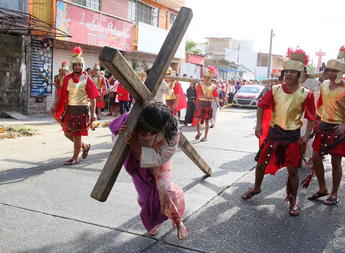 Será aplazado el tradicional viacrucis en el sur de Veracruz