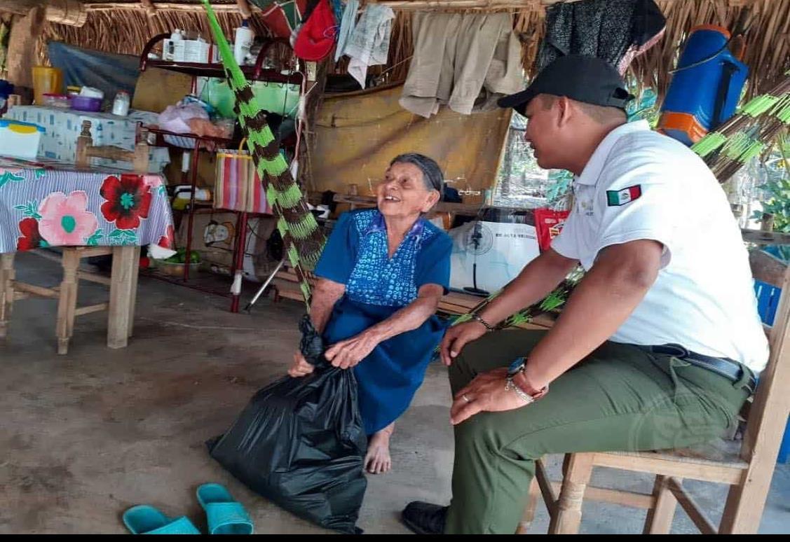 Apoyo a familiares vulnerables entrega Chucho Morales