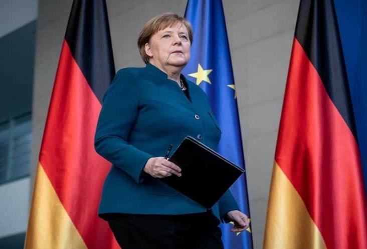 Merkel, en cuarentena tras tener contacto con enfermo