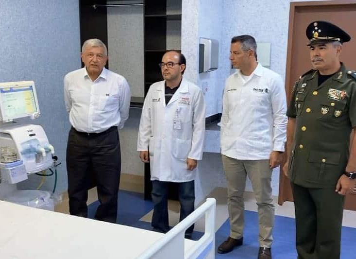 Fuerzas Armadas operarán 10 hospitales por Covid-19, informa López Obrador