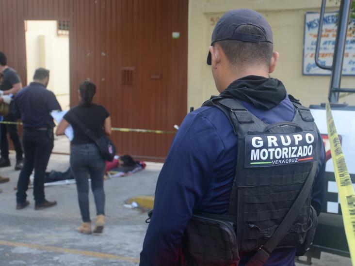 Fallece hombre en calles de Veracruz