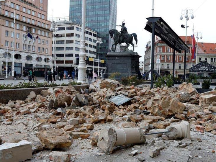 Dos sismos sacuden a Croacia en plena cuarentena