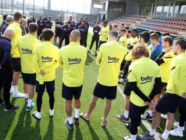Barcelona trabaja en posible regreso el 27 de abril
