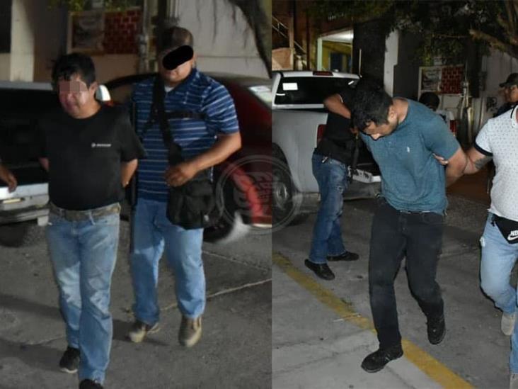 Tras operativo de PME, caen extorsionadores en Acayucan
