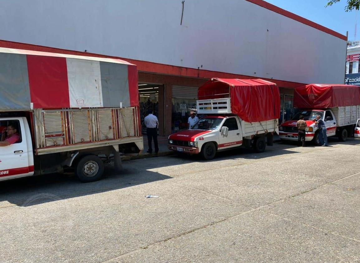 Servicios de fletes caen 70 por ciento en Coatzacoalcos