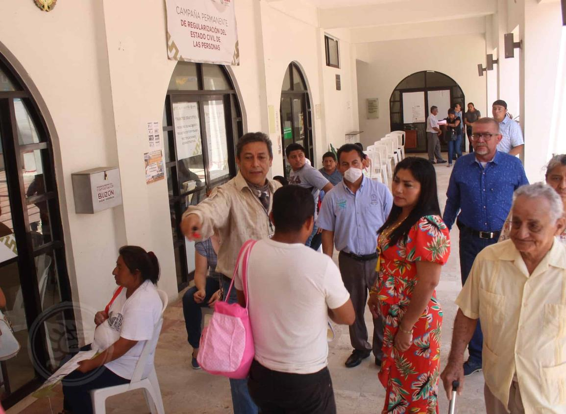 Registro Civil sólo oficializará bodas agendadas