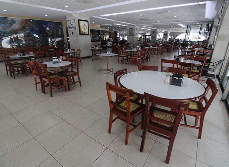 Pandemia vacía cafés y restaurantes de Veracruz