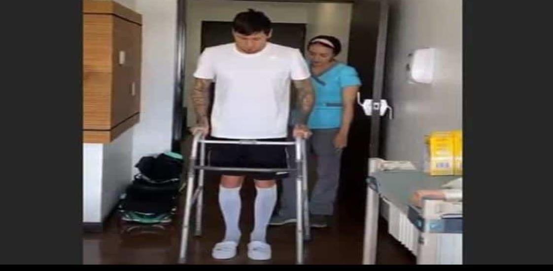 Nico Castillo recibe alta hospitalaria y sigue en rehabilitación