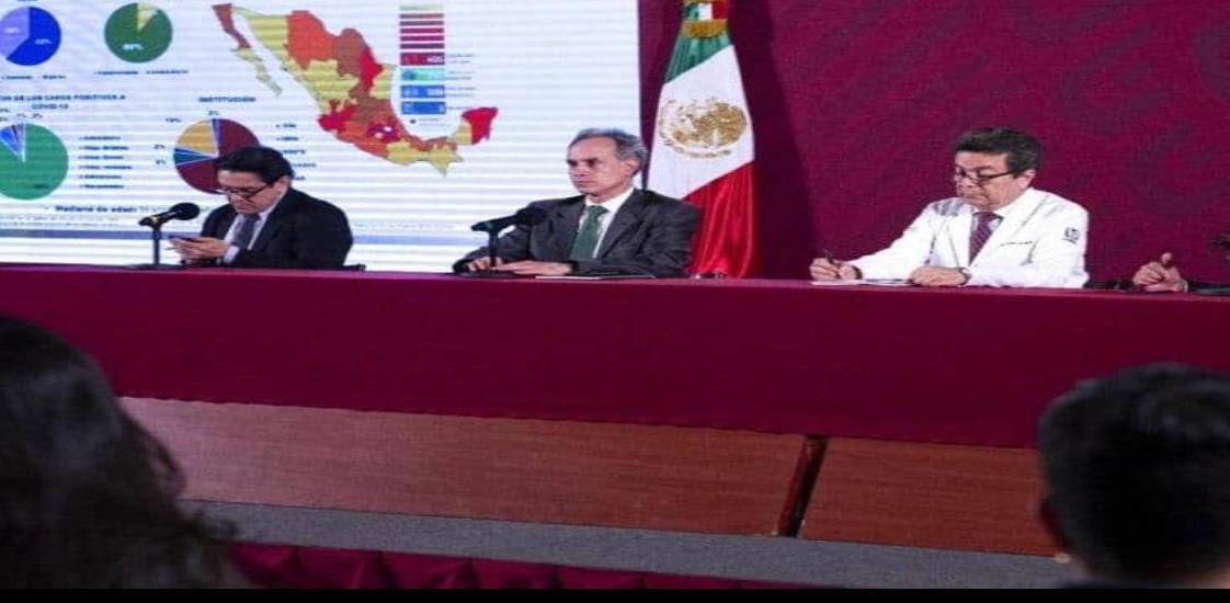 Aumentan a 475 los casos positivos de Covid-19 en México