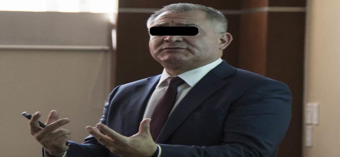 Por  Covid-19 en prisión, García Luna solicita fianza de 2 mdd para ser liberado