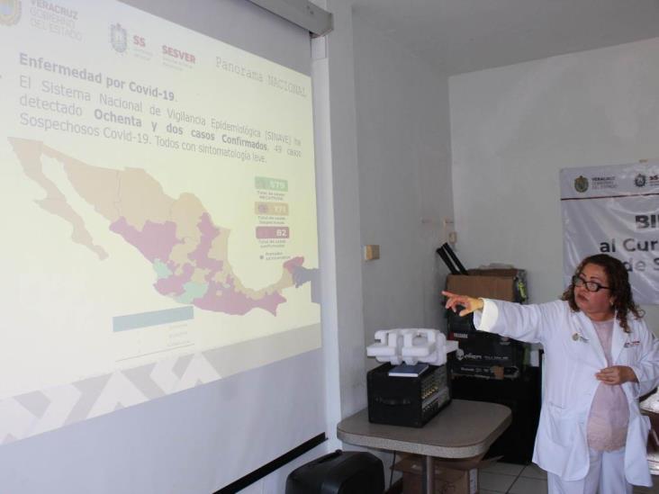 Prepara Salud Veracruz a municipios de Los Tuxtlas ante brote de coronavirus